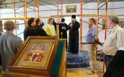 Митрополит Георгий посетил в Нижнем Новгороде ряд строящихся и реконструируемых объектов Нижегородской епархии