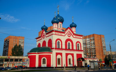 В Нижнем Новгороде освящен храм в честь иконы Пресвятой Богородицы «Нечаянная Радость»
